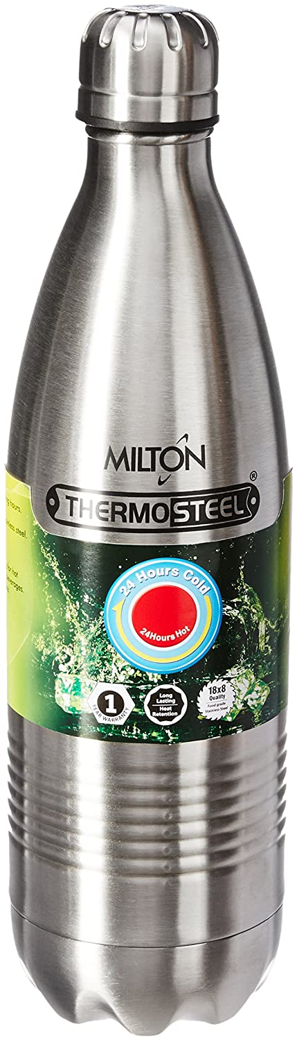 Milton Thermosteel Duo Deluxe-1000 Bottle Style Vacuum Flask