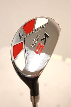 majek Golf todos los híbrido regular flex # 7 para diestros ...