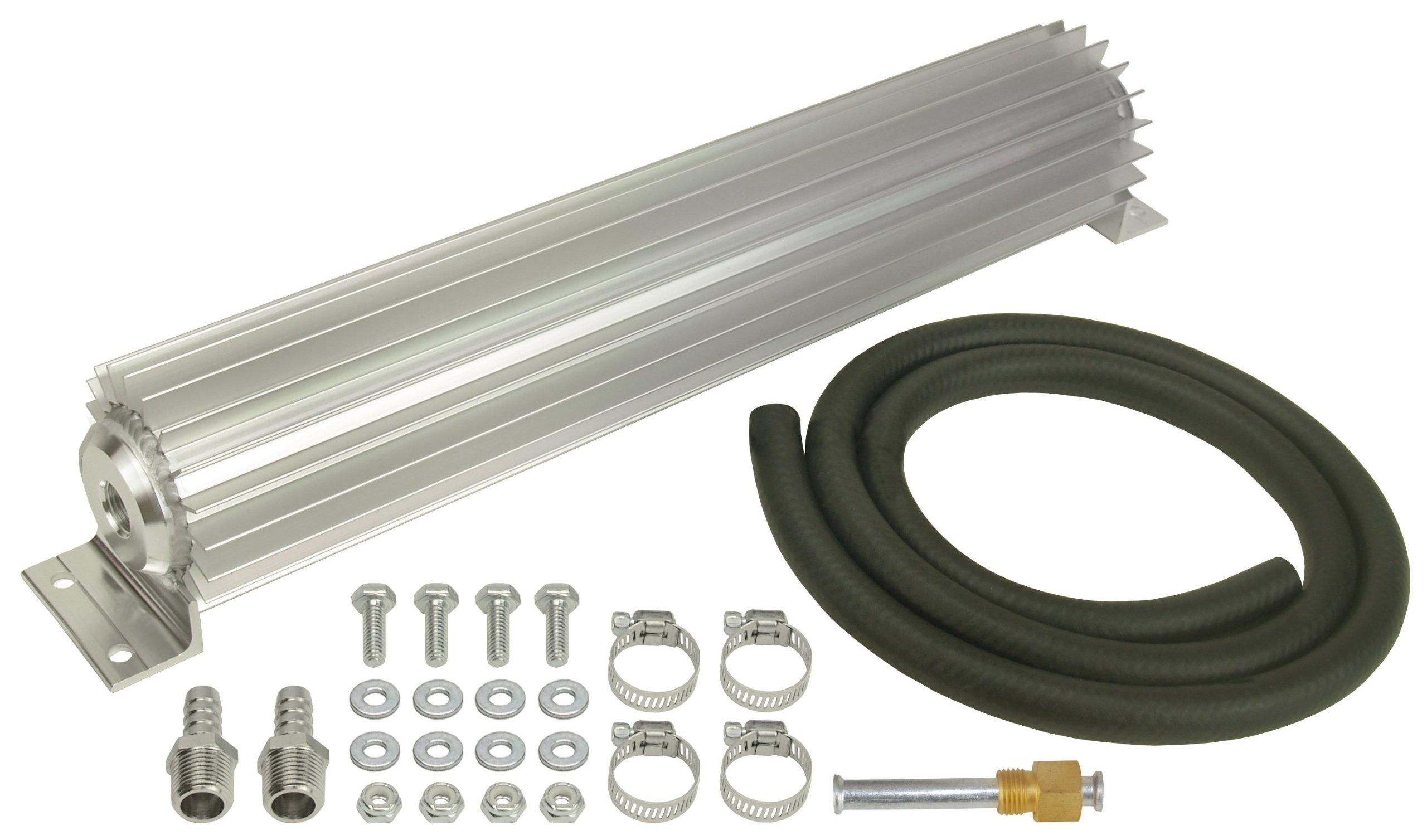 Derale 13254 Single Pass Aluminum Heat Sink Cooler by Derale