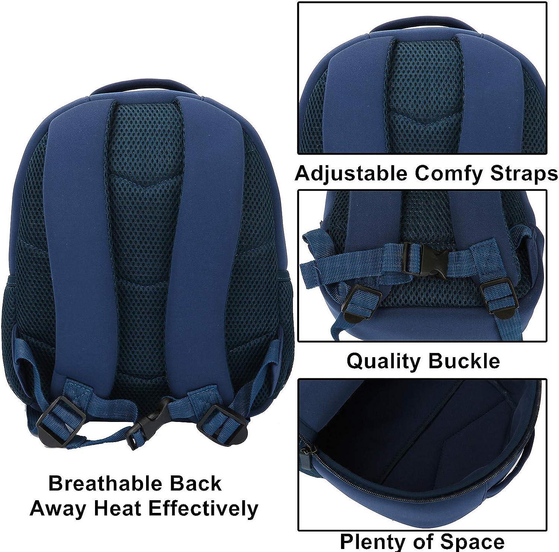 Insulated Toddler Backpack Neoprene Preschool Book Bag