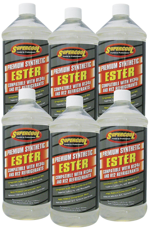 TSI Supercool E31-6CP Ester Oil, 1 quart, 6 Pack by TSI Supercool