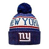 New Era NY Giants NFL 18 Sideline Sport Knit Hat