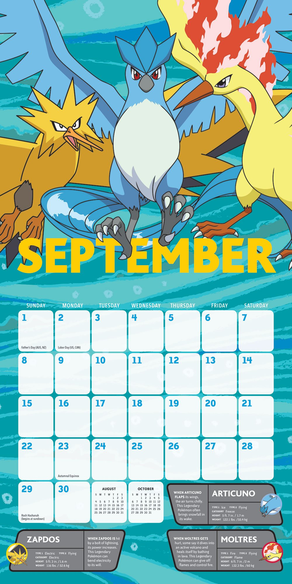 2019 Pokemon Calendar Pokémon 2019 Wall Calendar: Pokémon: 9781419731891: Amazon.com: Books