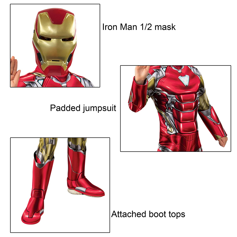 Rubies Costume Iron Man Avengers Endgame Child Deluxe Costume