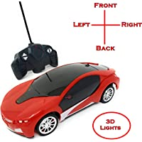 TANMAN TOYS 1:22 Scale Remote Control Famous car with 3D Lights Full Functions Turns Left, Right, Forward and Reverse, Wireless Remote, high Speed, for Kids Boys, Assorted Colors