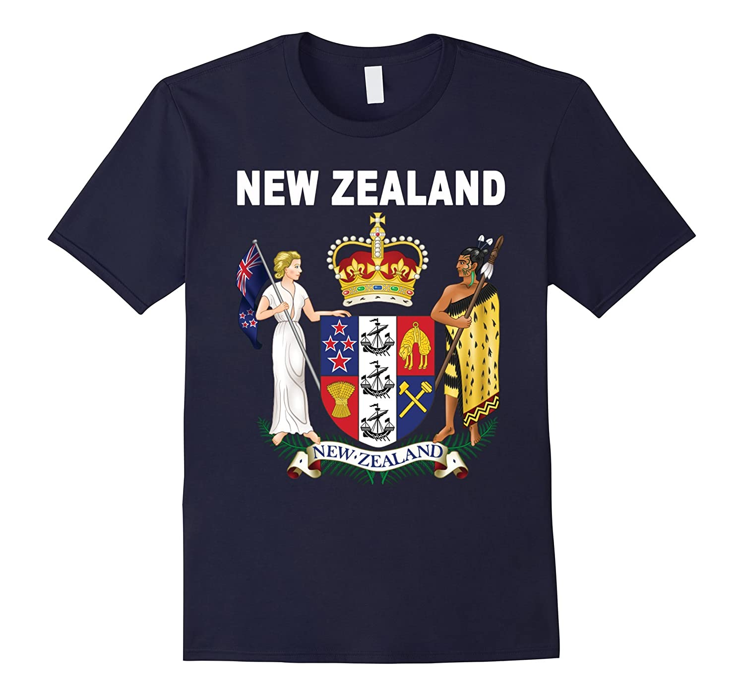 New Zealand National Ancestry Roots T-shirt-TH