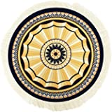 xylxyl Oriental Fabric Carpet Mousepads Persian Round Rug Mousemats ∅ 9 Inches