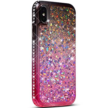 Amazon.com: PHEZEN - Carcasa para iPhone XS, diseño con ...