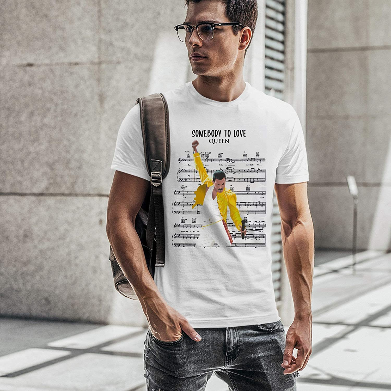 T-Shirt Freddie Bohemian Rhapsody Film Choose ur Color