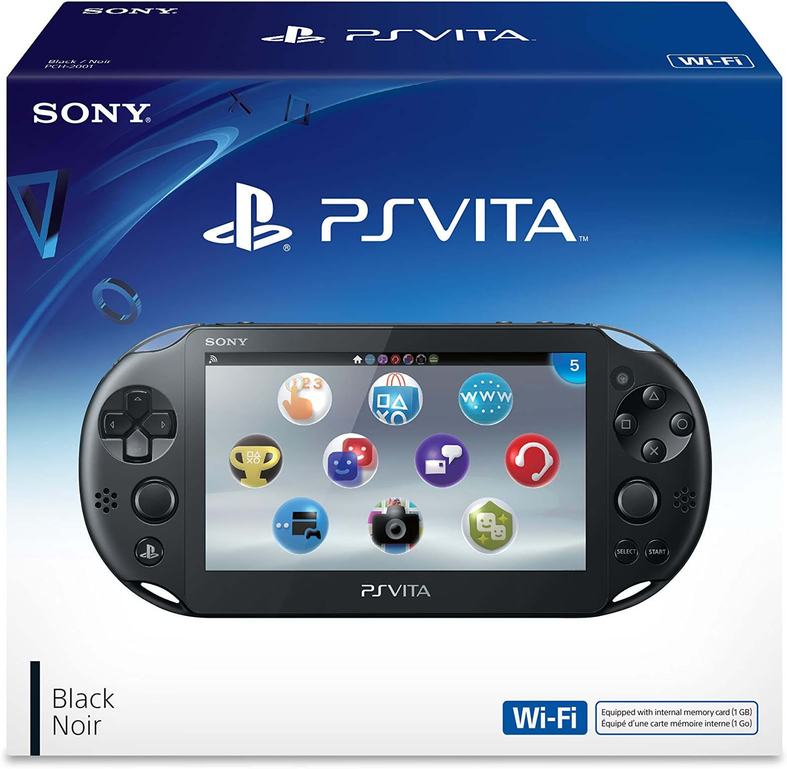 The Sony PlayStation Vita WiFi travel product recommended by Ebony Bagley on Lifney.
