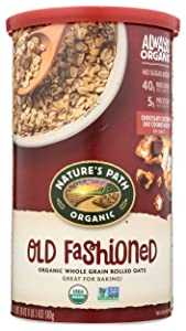 Nature's Path Toasted Oats, Old Fashioned, Organic, 18 oz