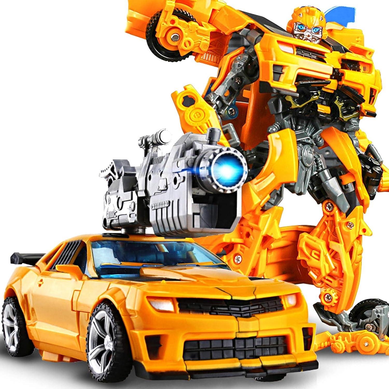 Robot Puede Cambiar De Forma Modelo De Coche Figuras De Acción Juguetes De Anime