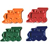 48 Train Crayons by MinifigFans™ - Birthday Party Favors - 12 Sets of 4 Crayons - Made in the USA from Crayola Crayons