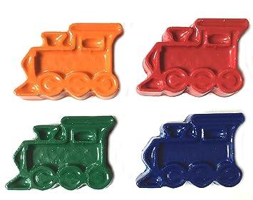 Amazon Com Minifigfans 48 Train Crayons Kids Party Favors 12