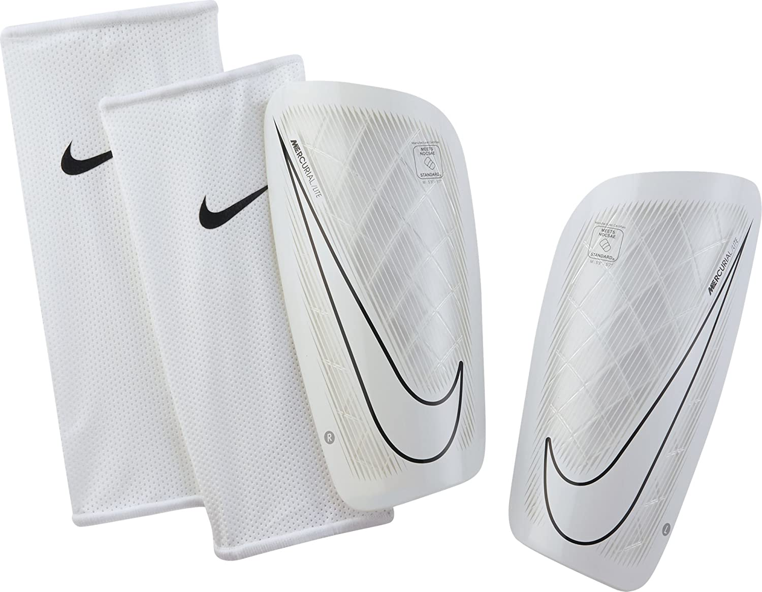 sports shoes 3287c 98094 Amazon.com   Nike Mercurial Lite Shin Guard   Sports Related Merchandise    Sports   Outdoors