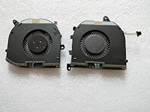 DELL Laptop Genuine OEM CPU GPU Cooling Fans Right and Left 08YY9 008YY9