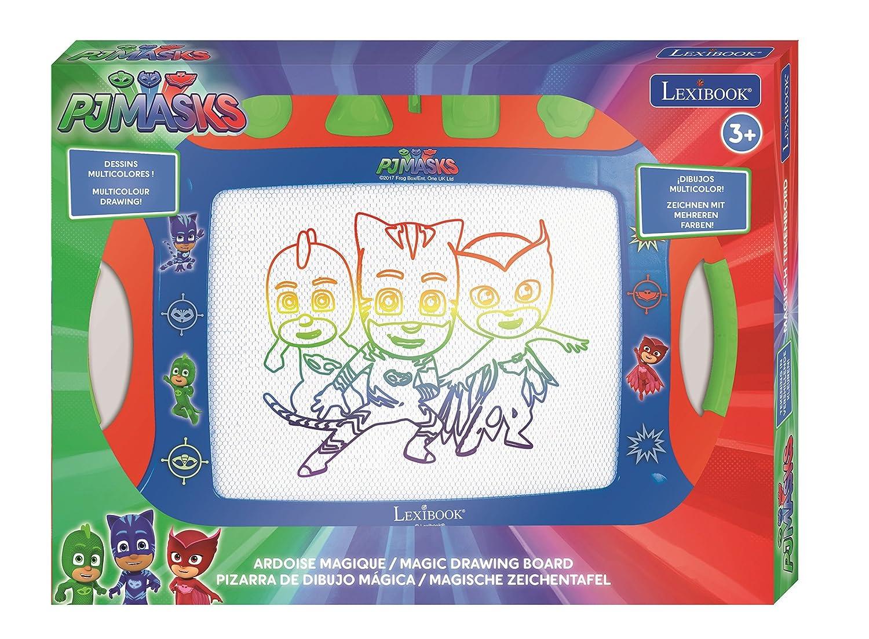 Pj Mask Masks Pijamasks-Pizarra De Dibujo Mágica, a Partir de 3 años (Lexibook CRPJM600): Amazon.es: Juguetes y juegos