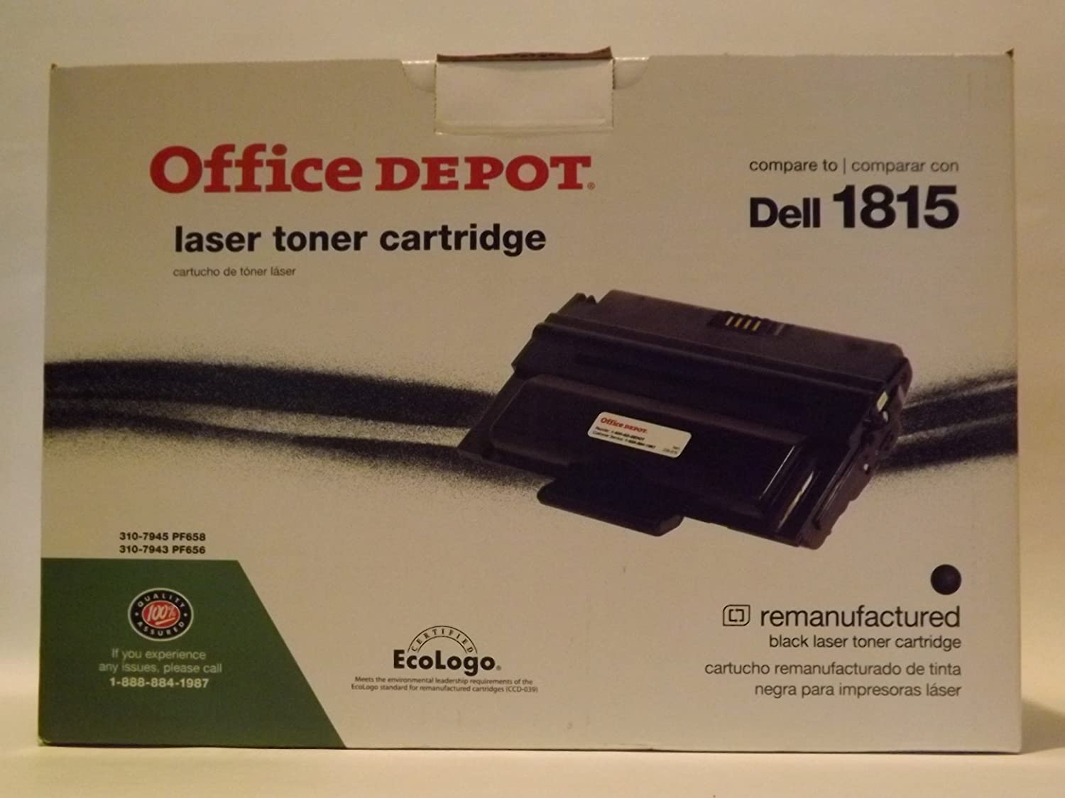 Amazon.com: Office Depot Remanufactured Black Laser Toner ...