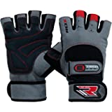 RDX Gym Men's Weight Lifting Gloves Cross Training Bodybuilding Fitness Workout