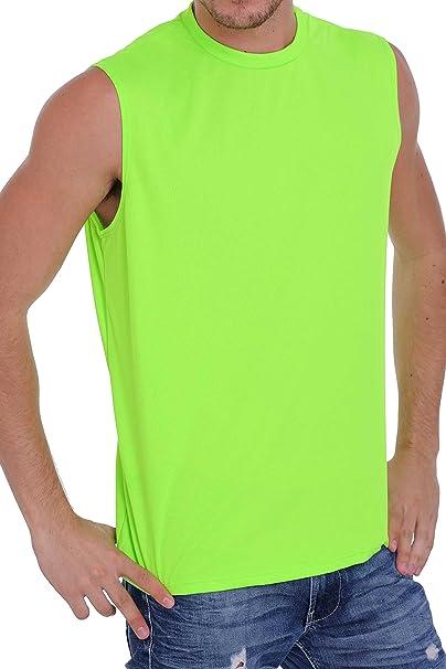 d819bcab1230d5 Amazon.com  Men s Mesh Dri Fit Light Weight Sleeveless Shirt Workout Gym  Made in The USA  Clothing