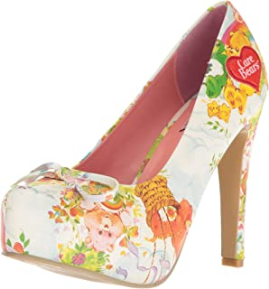 2ccd2b35d8 Amazon.com  Iron Fist Women s Care Bears Stare Platform  Shoes