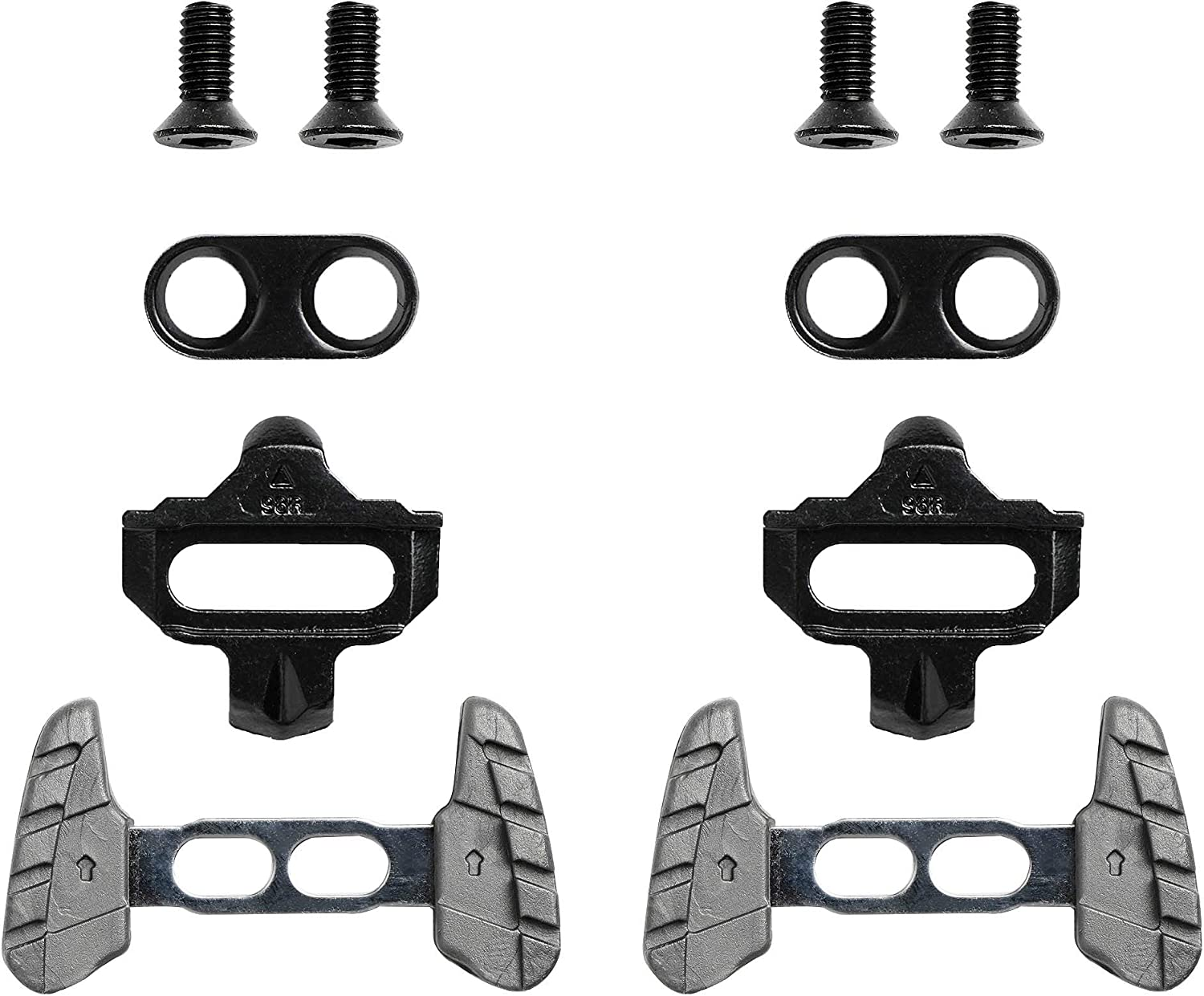 Road Bike Cleats For SPD Pedals New Packaged Set Shimano SM SH-51 SPD MTB