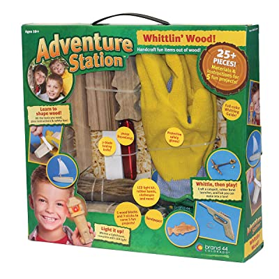 Brand 44 Adventure Station Whittlin Wood Kit: Toys & Games