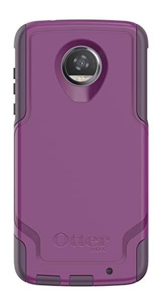 finest selection 32991 fc97d OtterBox COMMUTER SERIES for Moto Z2 Play - Retail Packaging - PLUM WAY  (PLUM HAZE/NIGHT PURPLE)