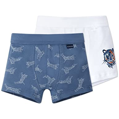Pack of 2 Schiesser Boys Boxer Shorts