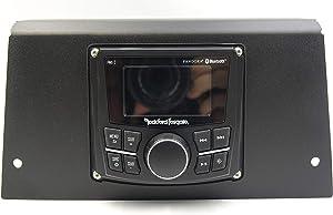 2019 RZR 1000 Dash Cover for Rockford Fosgate PMX Controller (Black)