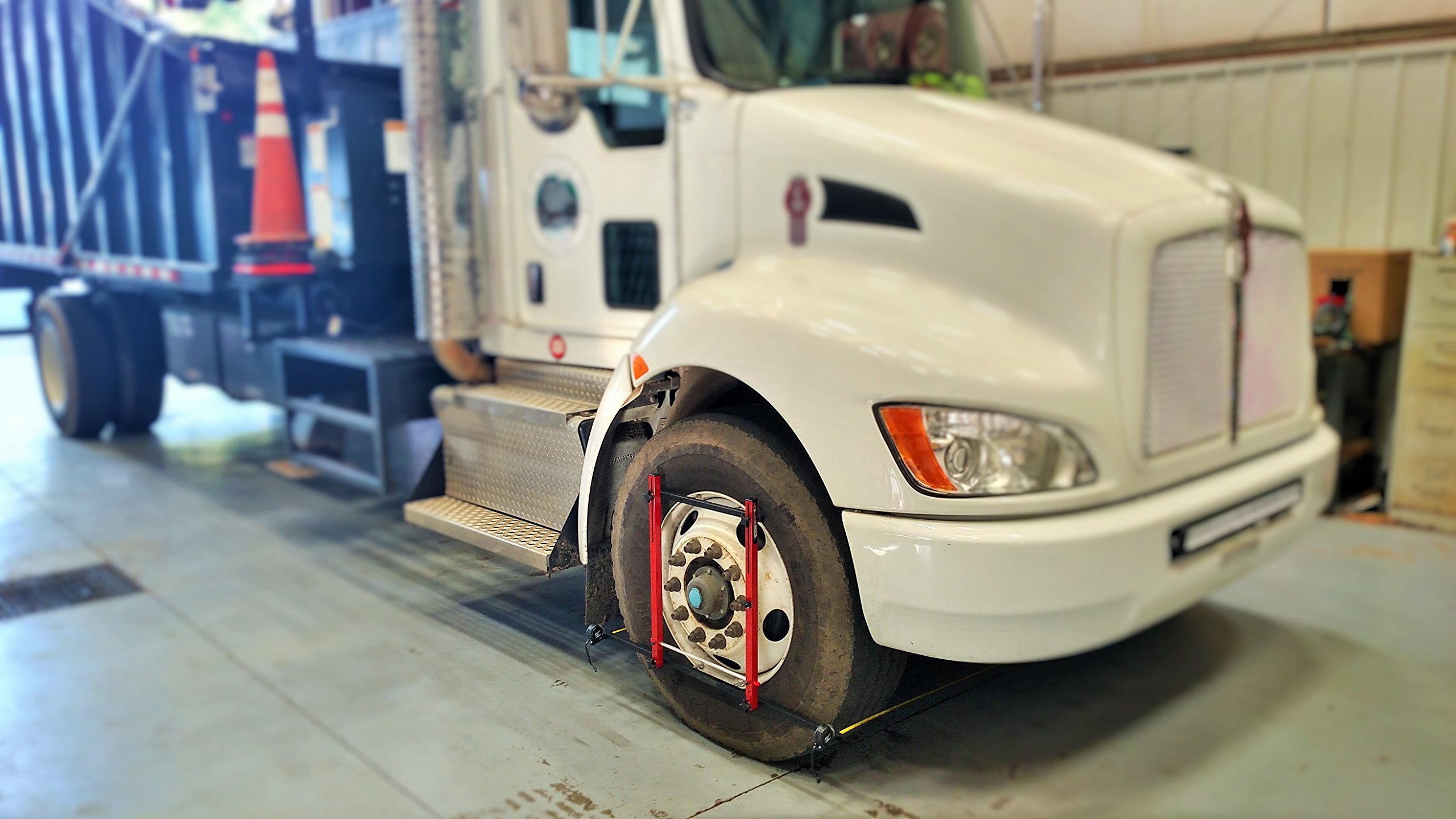 Large Wheel Alignment Kit Complete for both sides - Truck, Semi, Bus, Firetruck by QuickTrick (Image #2)