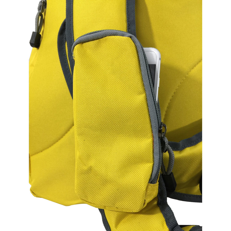Safety Retro-Reflective Strip K-Cliffs Water-Resistant Sling Backpack