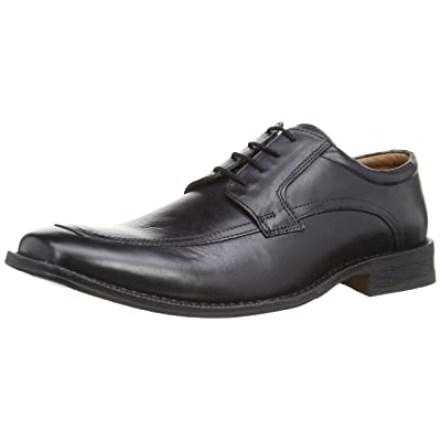 Hush Puppies Bensen Helling Men 11 Black Leather | Oxfords