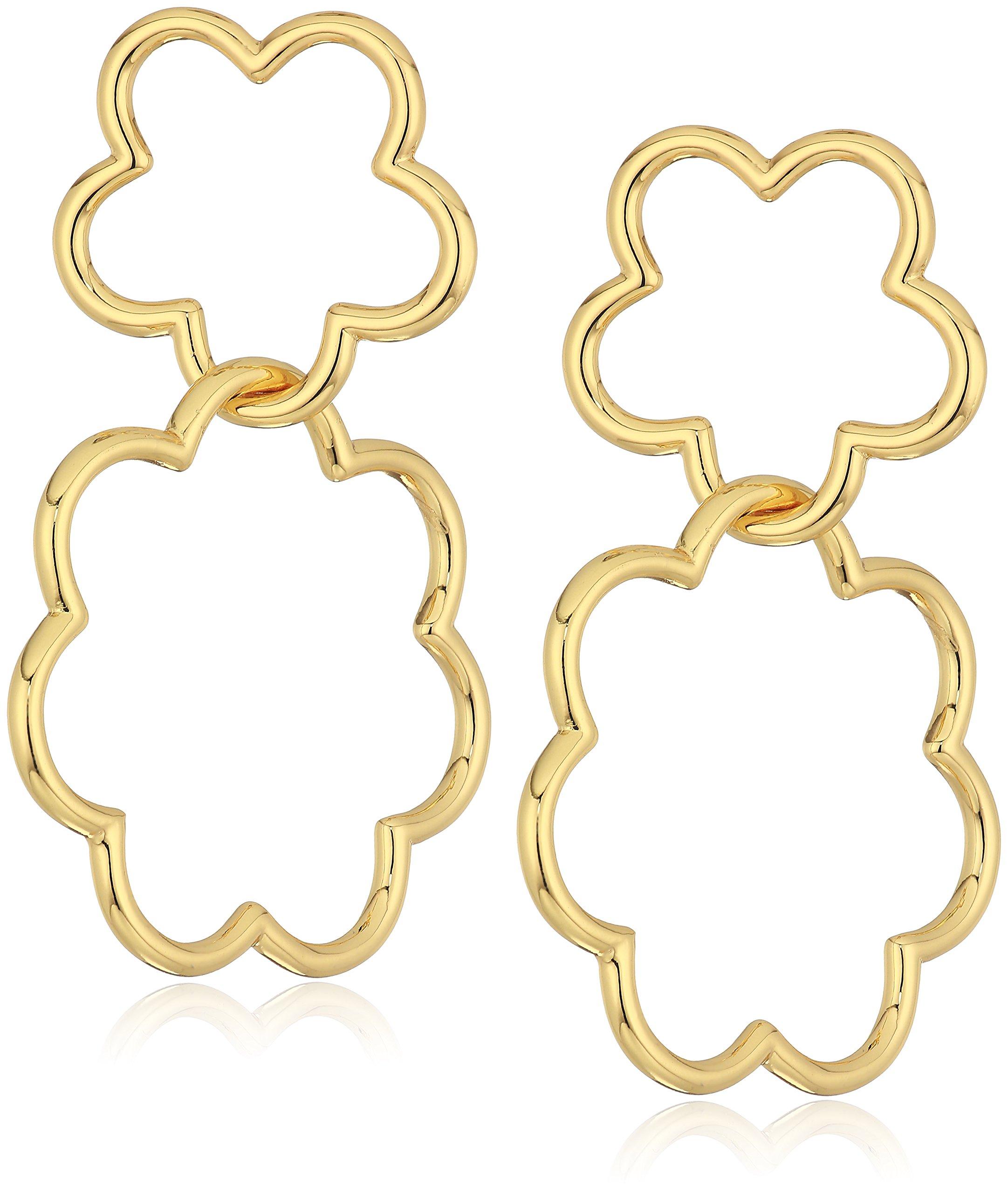 kate spade new york Womens Drop Earrings, Gold