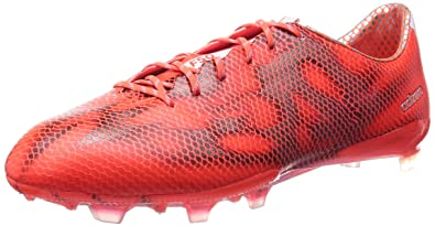 brand new 80be1 a5fed adidas Soccer Boots F50 Adizero FG Mens Cleats-Red-6.5