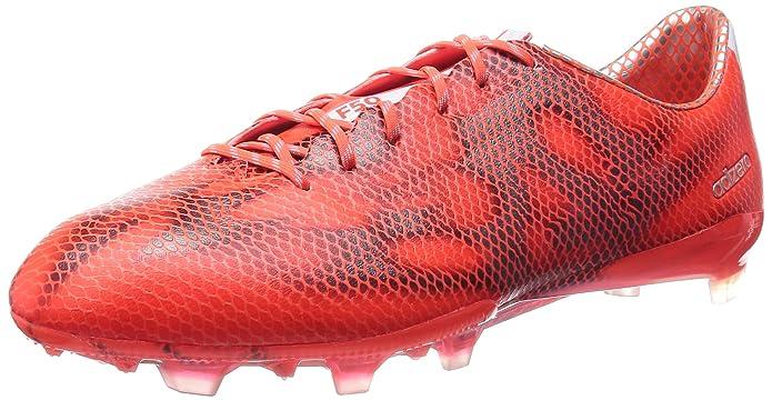 Amazon.com: adidas Botas de fútbol F50 Adizero FG Mens ...