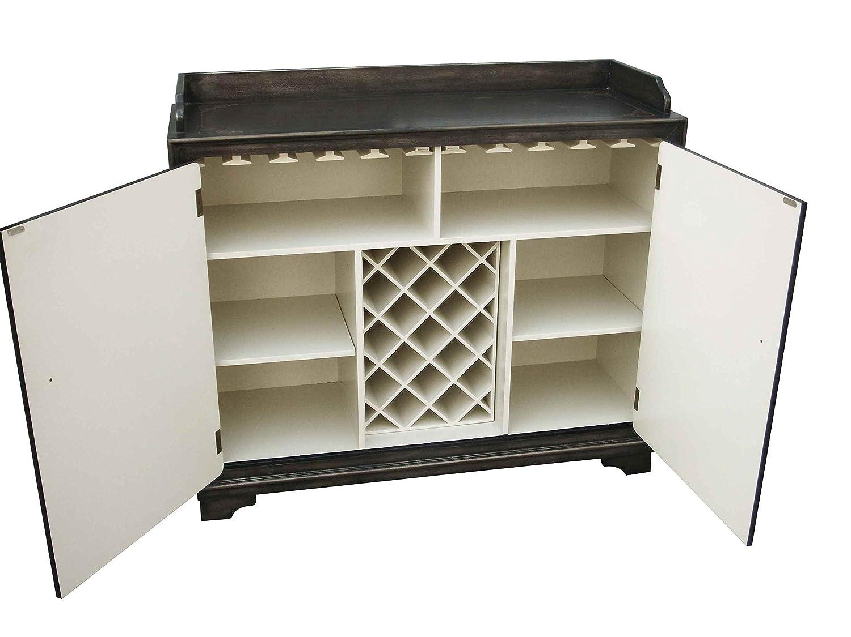 Amazon.com: Pulaski Isabel Wine Cabinet, 51 By 17 By 43 Inch, Brown:  Kitchen U0026 Dining