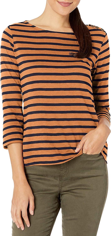 William Rast Womens Candice Henley Long Sleeve Tee Shirt