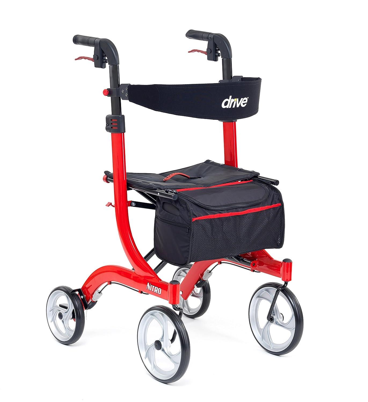 Drive DeVilbiss - Healthcare Nitro - Andador con cuatro ruedas de ...