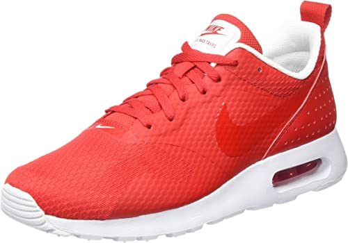Nike Air Max Tavas, Baskets Basses Homme, Rouge