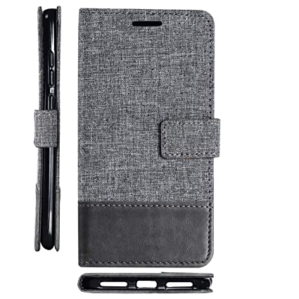 Amazon.com: Leather Flip Wallet Book Case for Xiaomi Mi ...