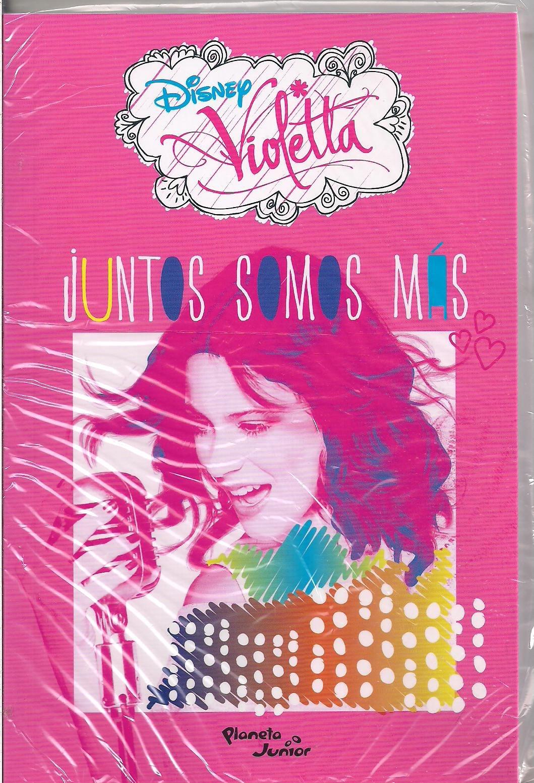 LIBRO VIOLETTA JUNTOS SOMOS MAS DISNEY (Spanish) Paperback – 2011