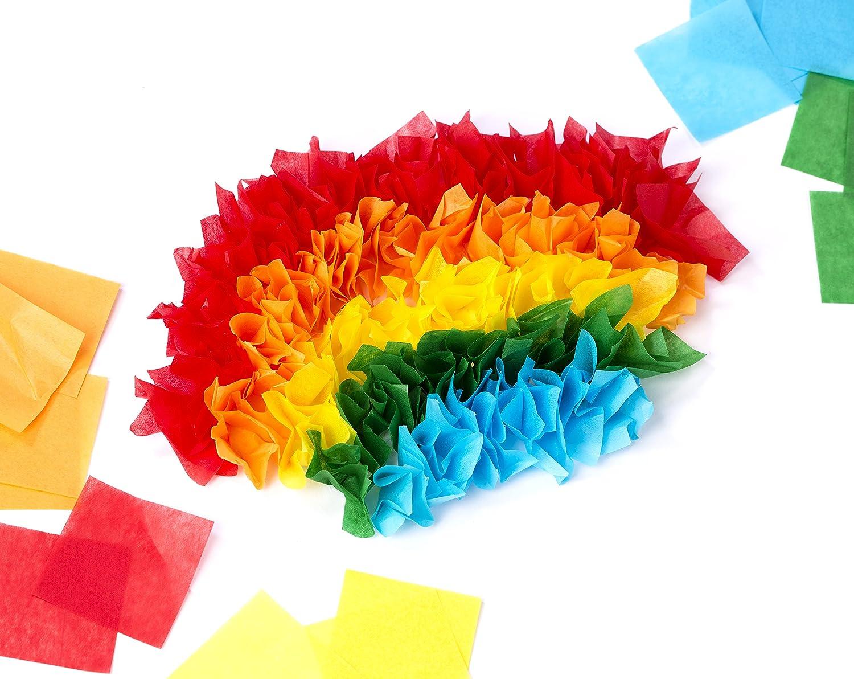 Fiber Craft Tissue Paper Pack Multi Colored