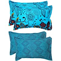 "Urban Home Designer Printed 2 Piece Cotton Pillow Cover Set - 17"" x 27"", Multicolour"