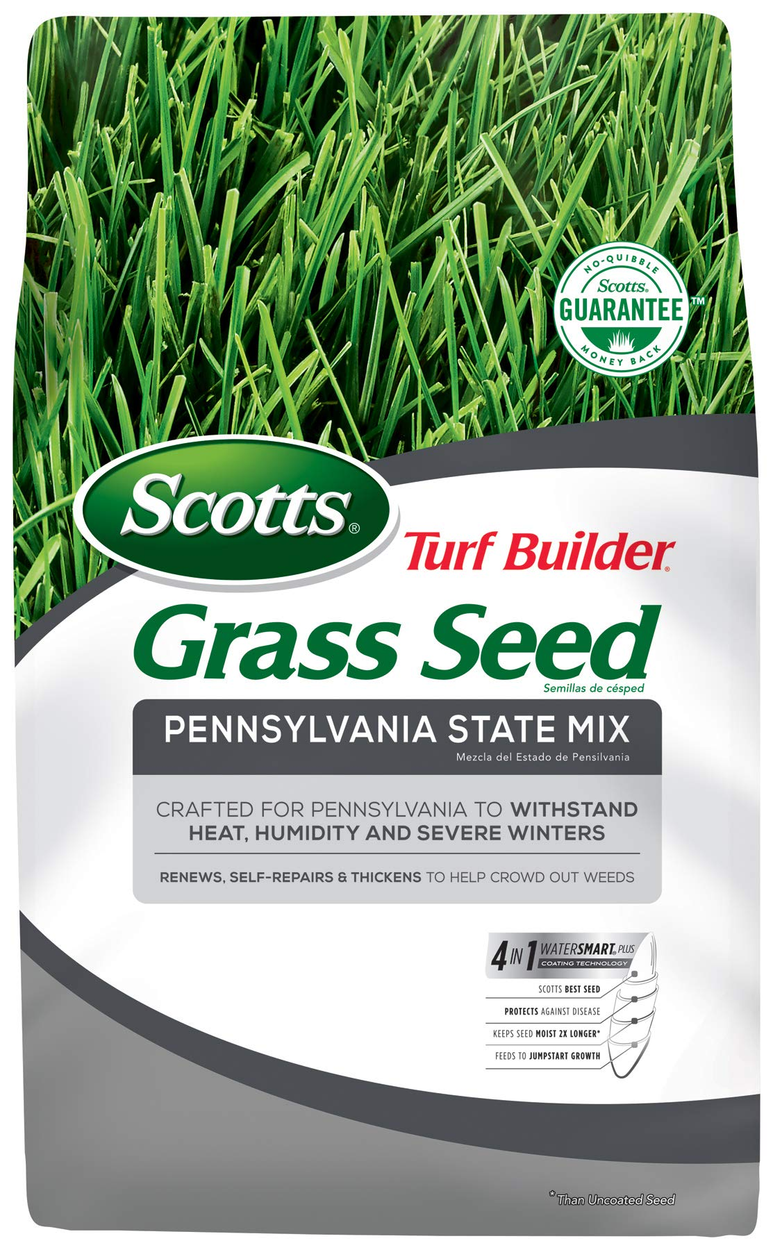 Scotts Turf Builder Grass Seed - Pennsylvania State Mix, 20-Pound (Not Sold in Louisiana) by Scotts (Image #1)