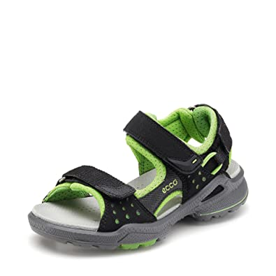 970cc27656063b ECCO Jungen Biom Sandalen Black Green Flash 28 EU Kinder  Amazon.de ...