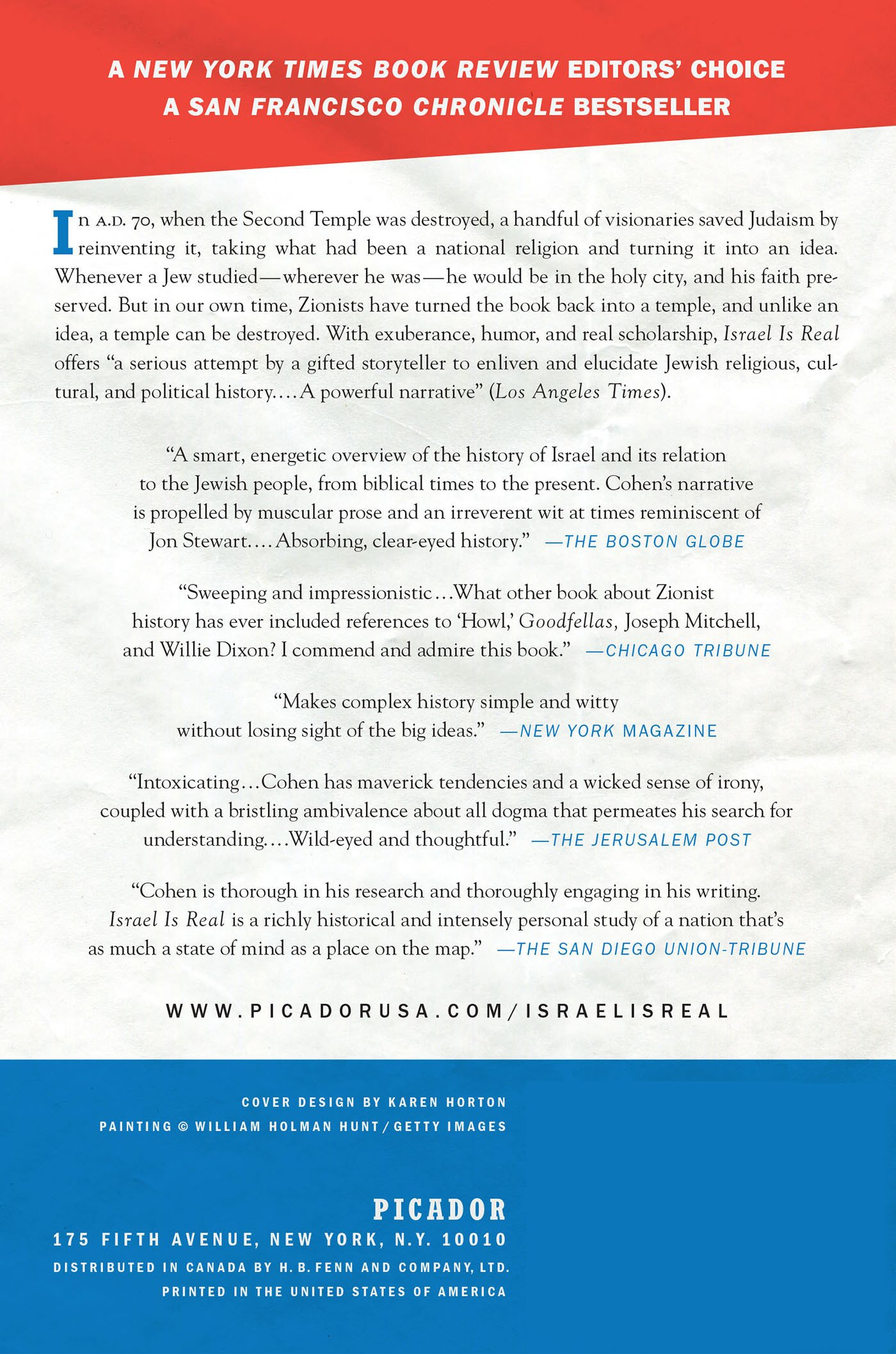 Israel Is Real: An Obsessive Quest To Understand The Jewish Nation And Its  History: Rich Cohen: 9780312429768: Amazon: Books