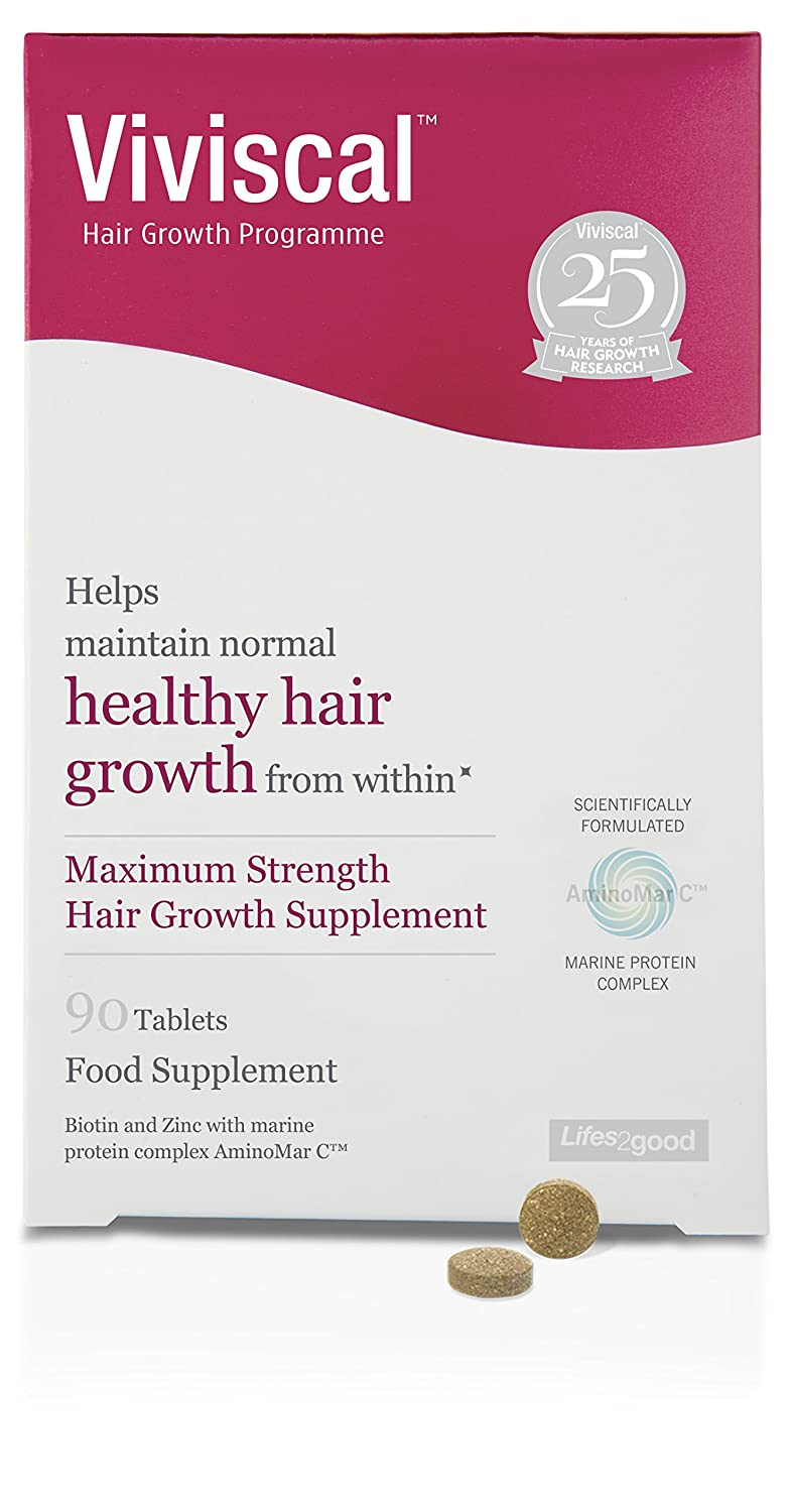Viviscal - Maximum Strength Hair Growth Supplements - 60 tablets Church and Dwhight 504344