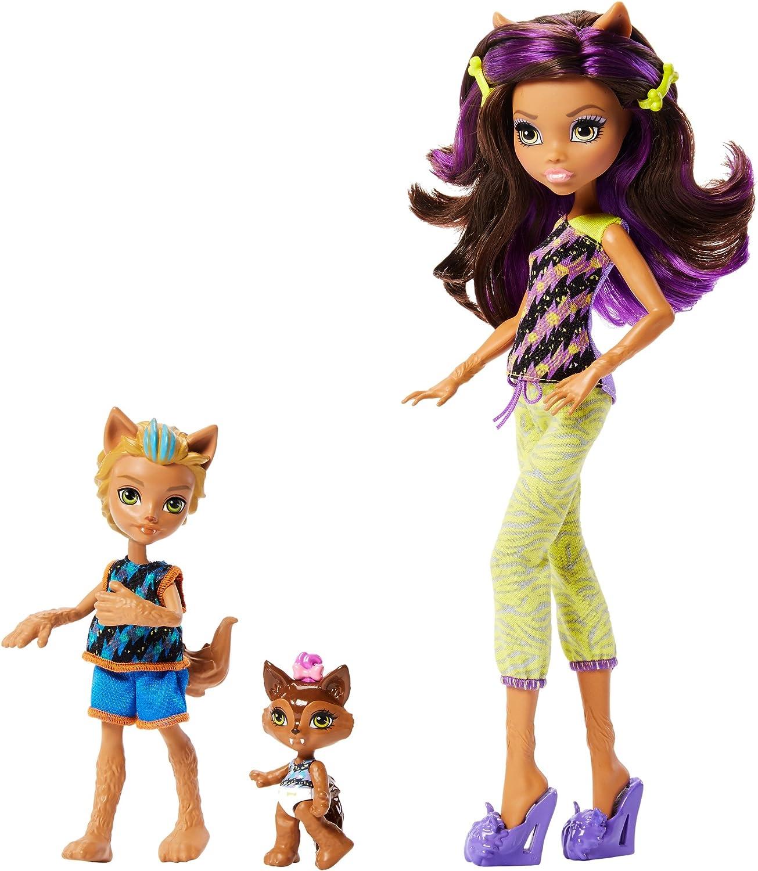 Amazon.es: Mattel FCV81 muñeca - Muñecas (Multicolor, (Juego) Macho y Hembra, Chica, 6 año(s), Clawdeen Wolf, Barker Wolf, Weredith Wolf, De plástico): Juguetes y juegos