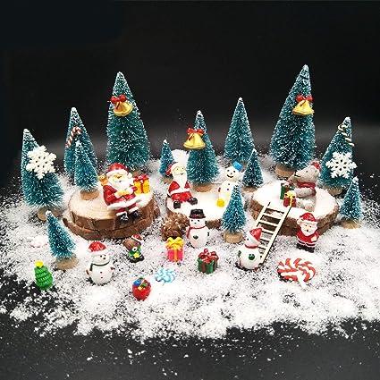 Snowman Holiday Gift Bag Dollhouse Miniature